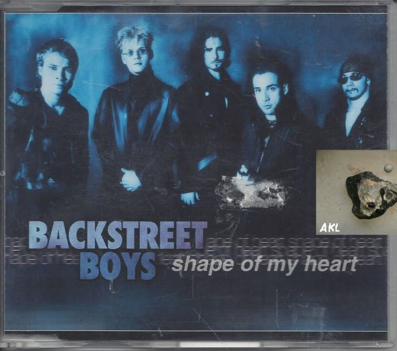 Backstreet boys, shape of my heart, Single CD