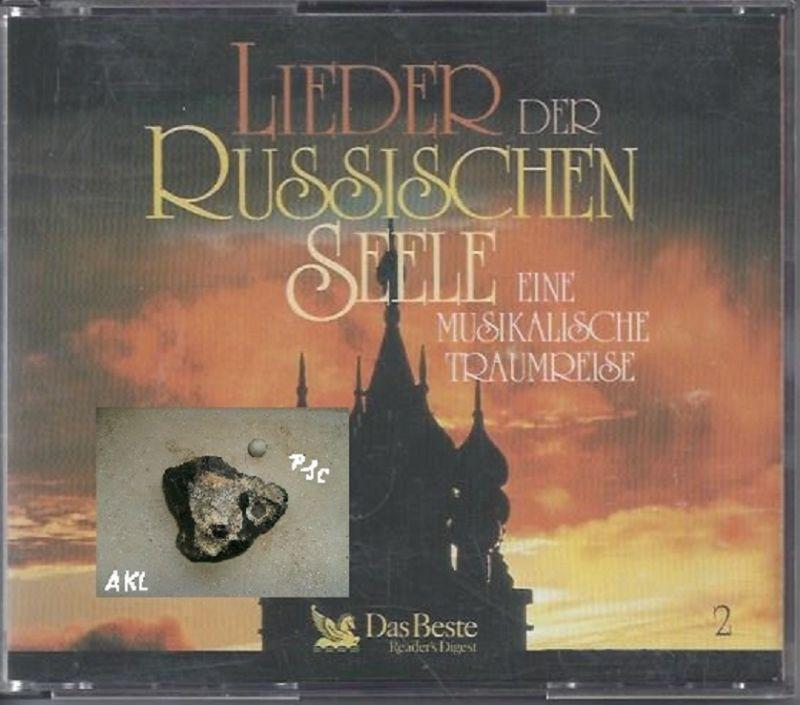 Lieder der russischen Seele, eine musikalische Traumreise, CD