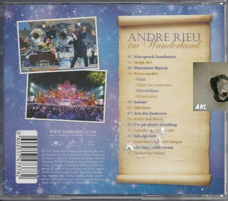 Andre Rieu im Wunderland 1, CD 1