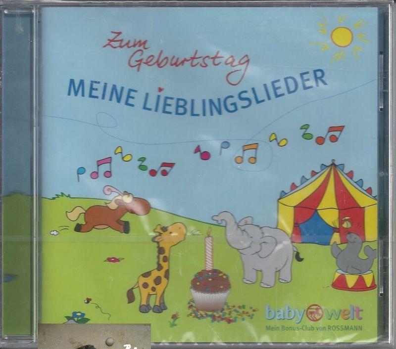 Meine Lieblingslieder, Zum Geburtstag, CD 0