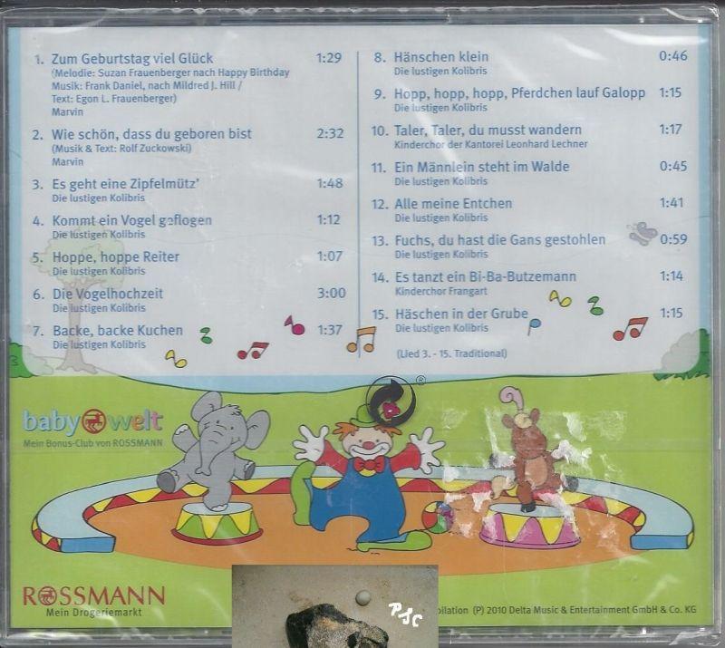 Meine Lieblingslieder, Zum Geburtstag, CD 1