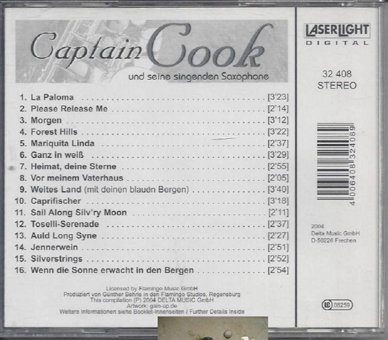 Captain Cook und seine singenden Saxophone, Sail along silvry moon, CD 1