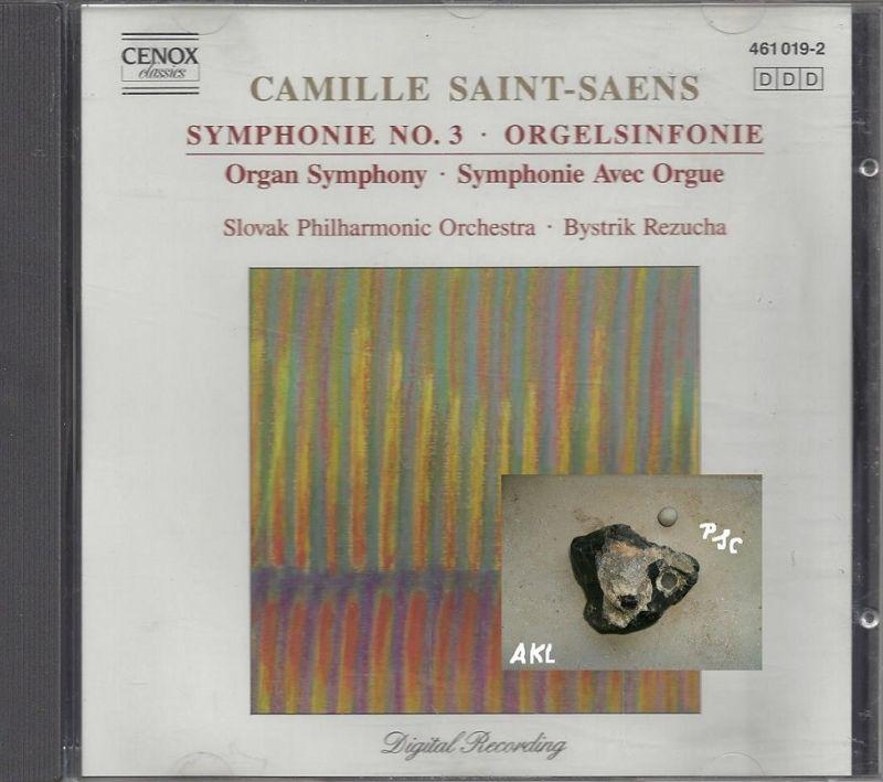 Camille Saint Saens, Symphonie No 3, Orgelsinfonie, CD 0