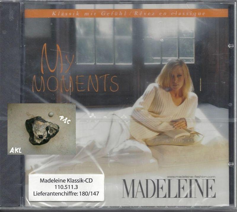 Madeleine, My moments, CD 0