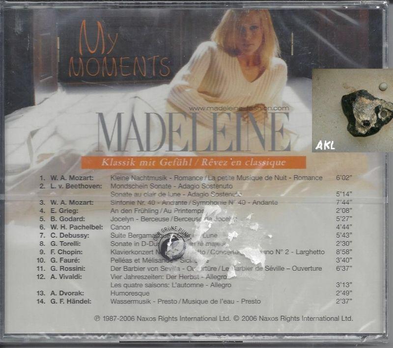 Madeleine, My moments, CD 1