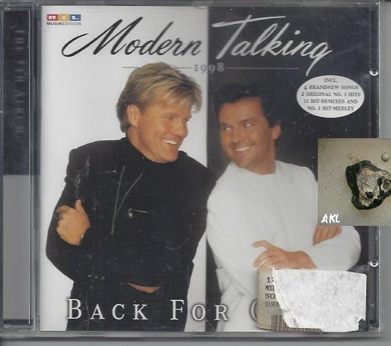 Modern Talking, Back for good, CD 0