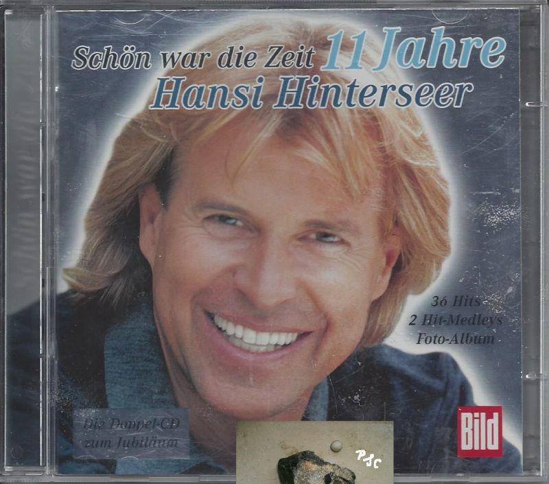 Hansi Hinterseer, Schön war die Zeit, 11 Jahre, CD 0