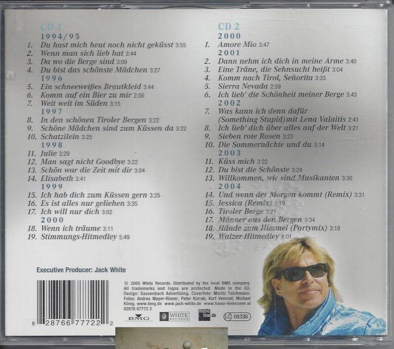 Hansi Hinterseer, Schön war die Zeit, 11 Jahre, CD 1