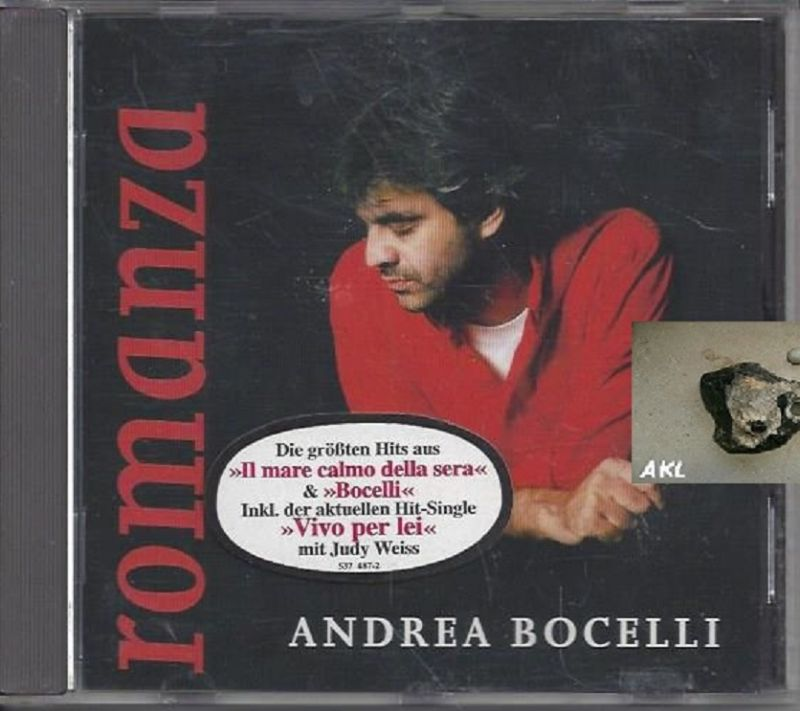 Andrea Borcelli, romanza, CD 0
