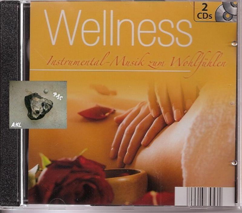 Wellness, Instrumental Musik zum Wohlfühlen, orange, CD