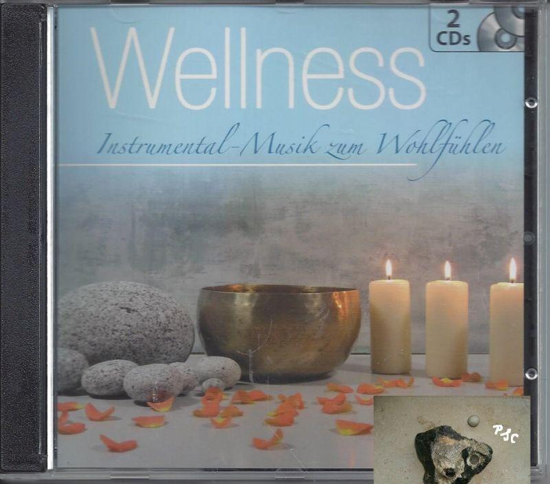 Wellness, Instrumental Musik zum Wohlfühlen, blau, CD 0