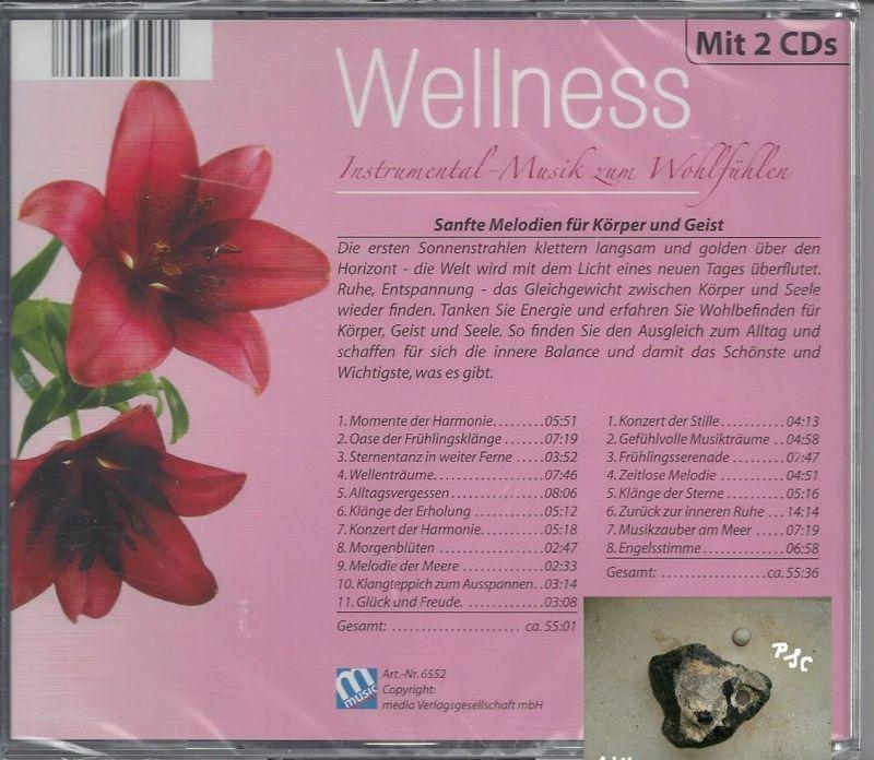 Wellness, Instrumental Musik zum Wohlfühlen, rosa, CD 1