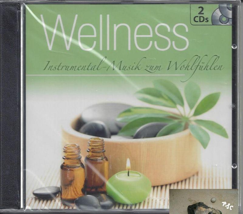 Wellness, Instrumental Musik zum Wohlfühlen, grün, CD