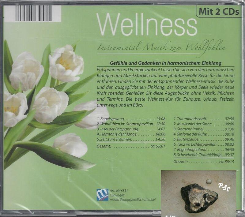 Wellness, Instrumental Musik zum Wohlfühlen, grün, CD 1
