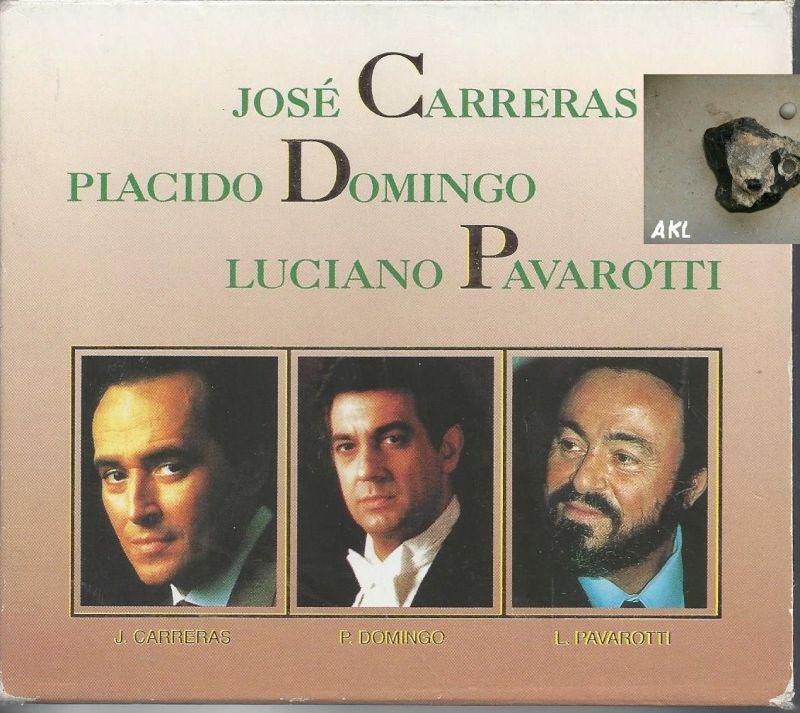 Jose Carreras, Piacido Domingo, Luciano Pavarotti, CD