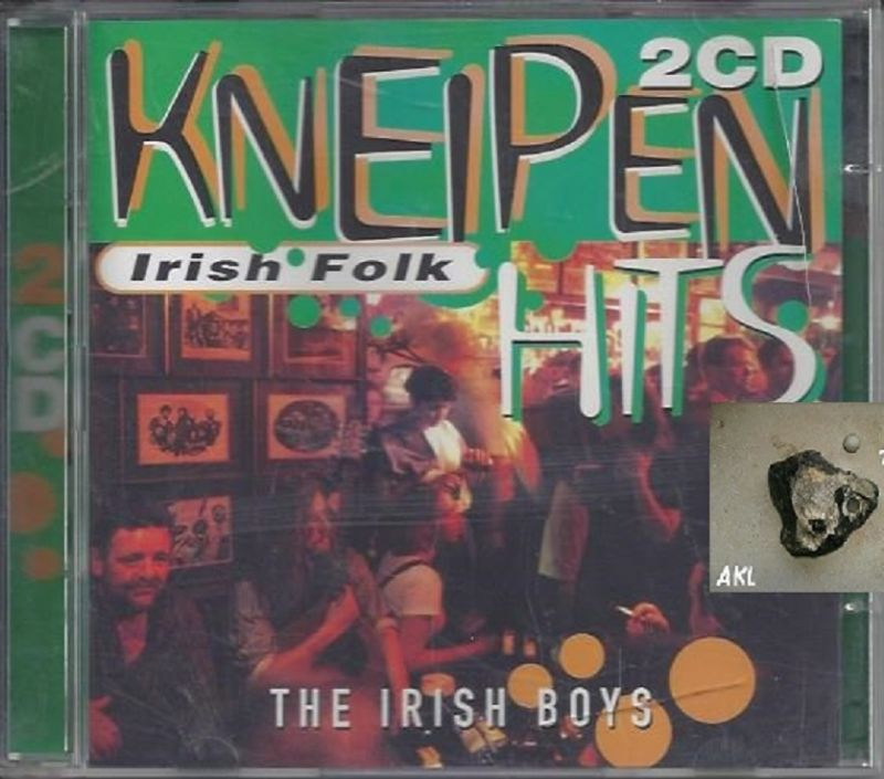 Kneipen Irish Folk, The irish boys, CD