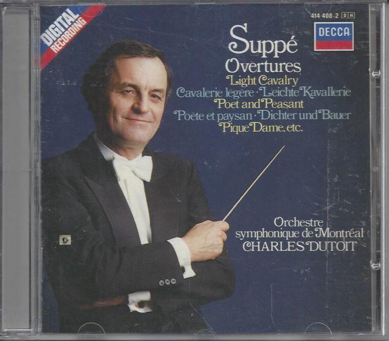 Charles Dutoit, Suppe Overtures, CD