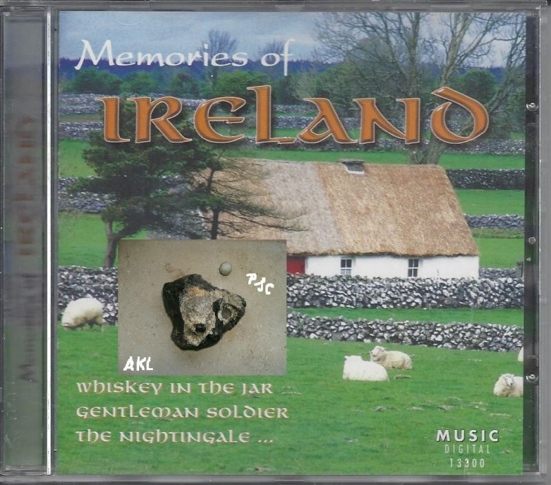 Memories of Ireland, CD