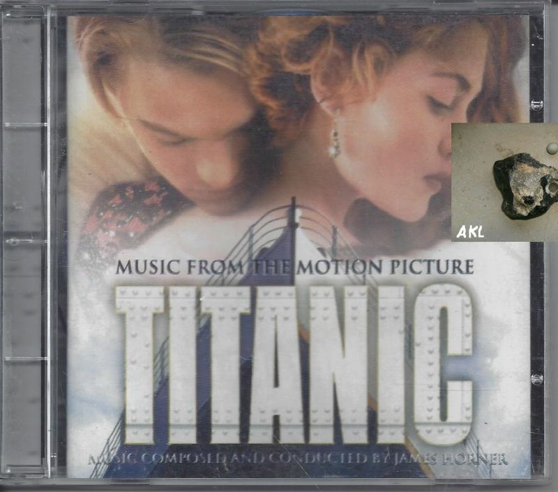 Titanic, Music from the motion picture, CD