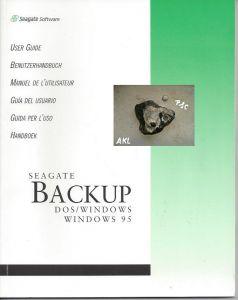 Seagate Backup, Dos Windwos 95, Benutzerhandbuch
