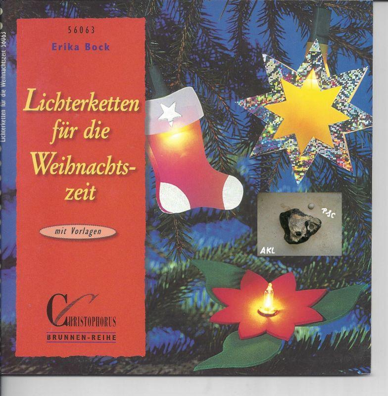 Lichterketten für die Weihnachtszeit, Erika Bock