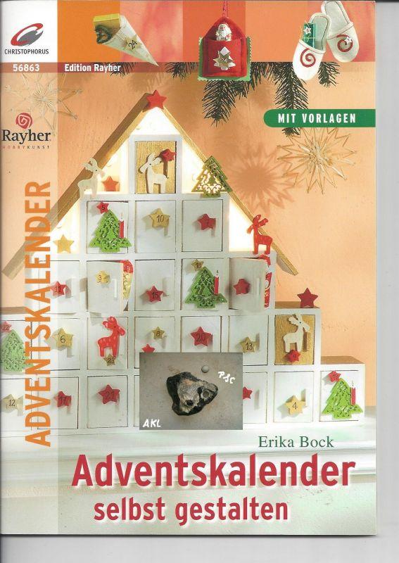 Adventskalender selbst gestalten, Erika Bock