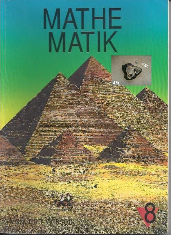 Mathematik 8, Volk und Wissen