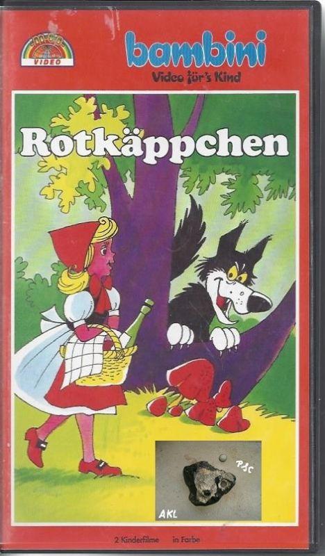 Rotkäppchen, bambini, VHS