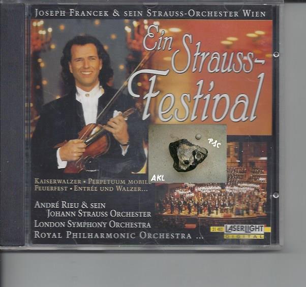 Ein Strauss Festival, Andre Rieu, CD