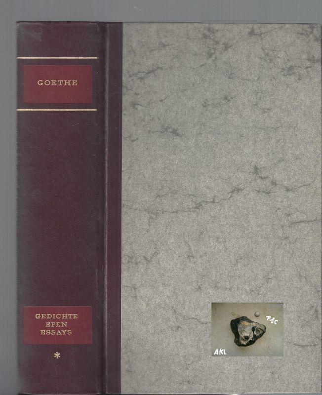 Johann Wolfgang Goethe, gesammelte Werke in vier Bänden, 1. Band