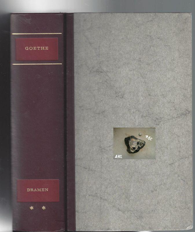 Johann Wolfgang Goethe, gesammelte Werke in vier Bänden, 2. Band