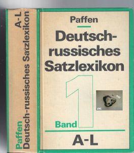 Deutsch-russisches Satzlexikon, Band 1, A-L