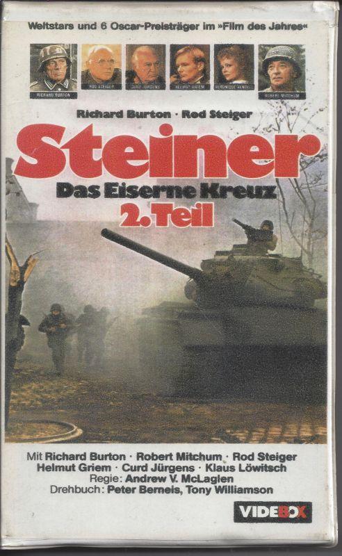 Steiner, Das eiserne Kreuz, 2. Teil, VHS