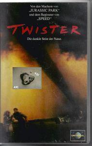Twister, Die dunkle Seite der Natur, VHS