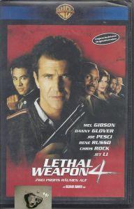 Lethal Weapon 4, zwei Profis räumen auf, VHS