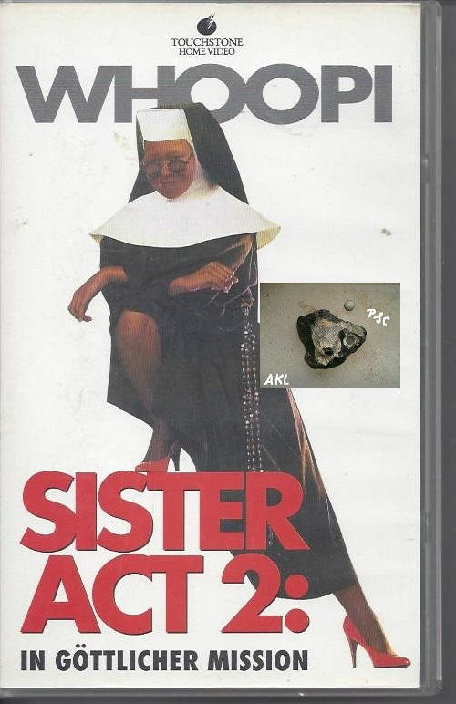 Whoopi Sister Act 2, in göttlicher Mission, VHS