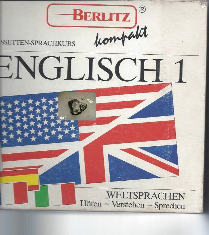 Englisch 1, Cassetten Sprachkurs, kompakt, Berlitz