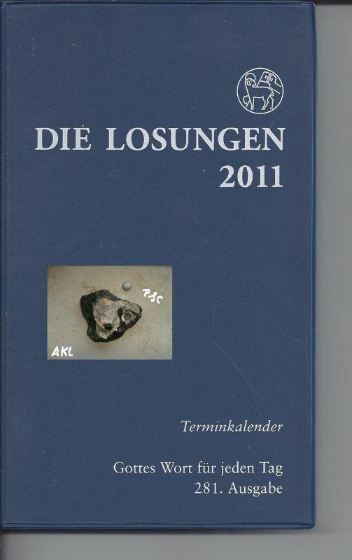 Die Losungen 2011