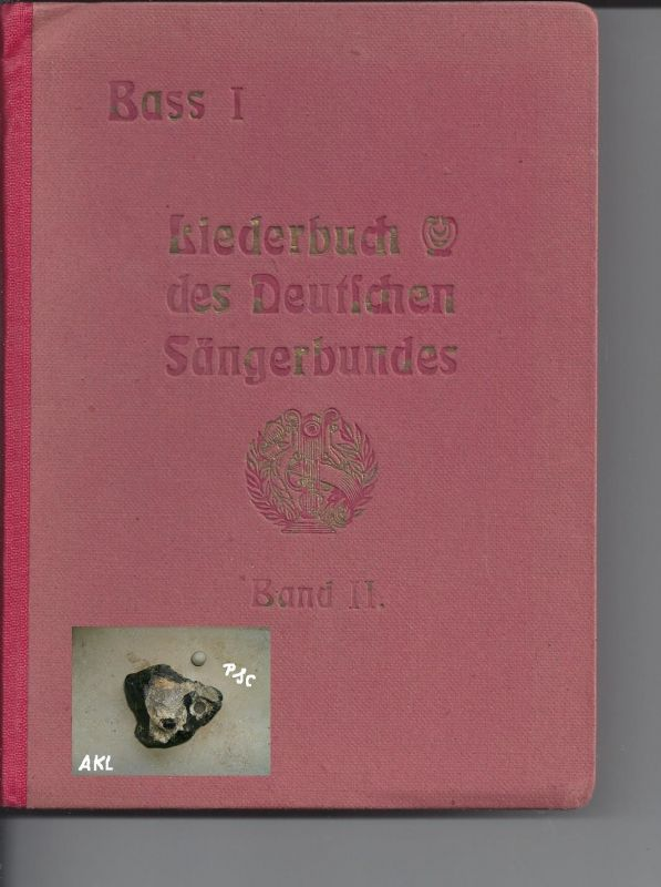 Liederbuch des deutschen Sängerbundes, Bass I, Band II