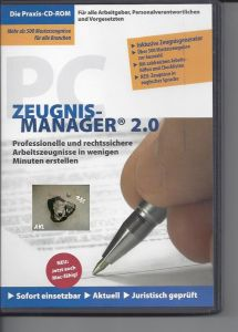 Zeugnismanager 2.0, CD-ROM