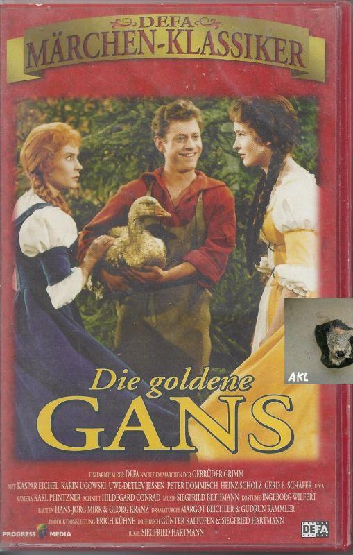 Die goldene Gans, Märchenklassiker, VHS