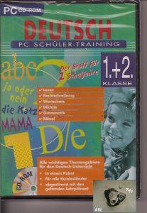 Deutsch PC Schüler Training, 1 und 2 Klasse, CD-Rom