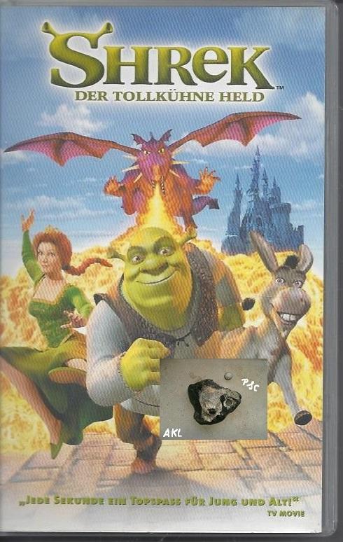 Shrek der tollkühne Held, VHS
