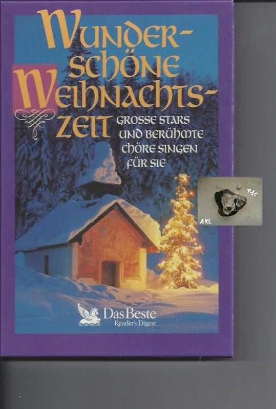 Wunderschöne Weihnachtszeit, große Stars, berühmte Chöre, Kassetten