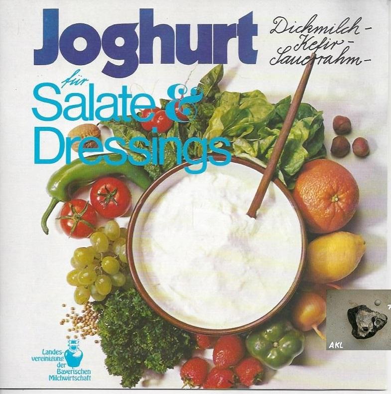 Joghurt für Salate und Dressings