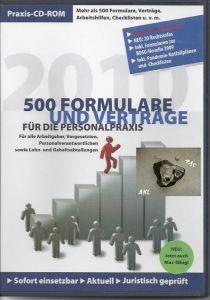 500 Formulare und Verträge für die Personalpraxis