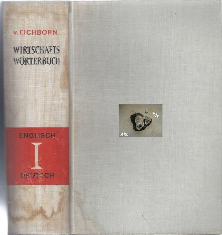 Wirtschaftswörterbuch Deutsch Englisch und Englisch Deutsch