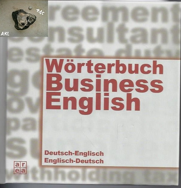 Wörterbuch Business English, Deutsch Englisch, Englisch Deutsch