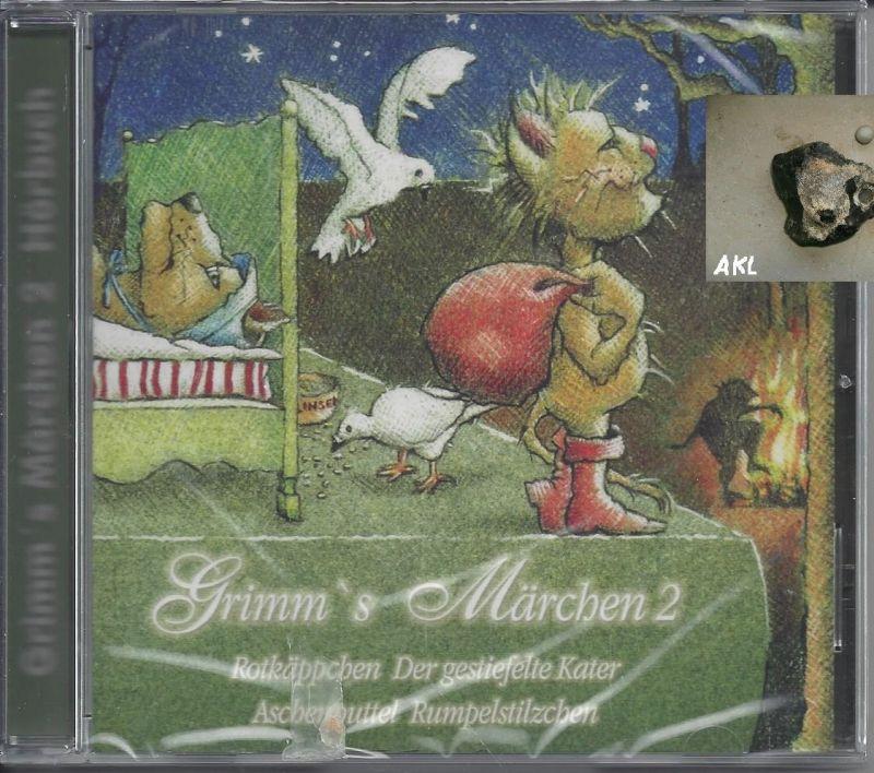 Grimms Märchen 2, CD, Rotkäppchen, Der gestiefelte Kater