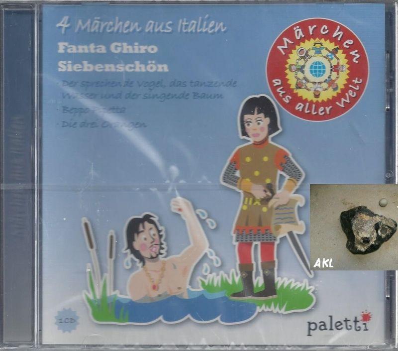 4 Märchen aus Italien, Fanta Chiro Siebenschön, CD